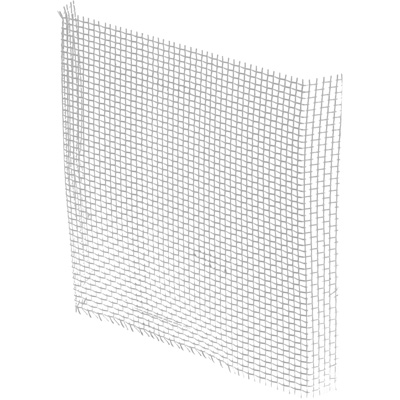 """Picture of P 7548 - Aluminum Window Screen Patch Kit, Silver, 3"""" x 3"""", 5 per bag"""