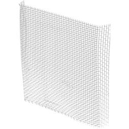 "Picture of P 7548 - Aluminum Window Screen Patch Kit, Silver, 3"" x 3"", 5 per bag"
