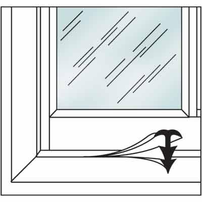 Picture of P 7628 - Window and Door Weatherstip, Clear Vinyl, 10' per package