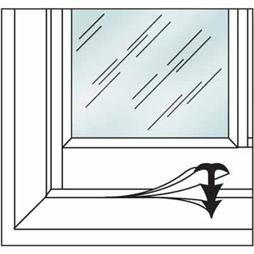 Picture of P 7628 - Window and Door Weatherstip, Clear Vinyl, 10' per package