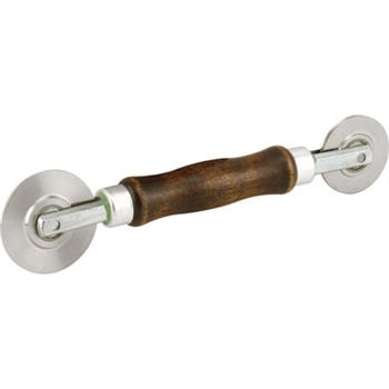 Picture of P 7629 - Professional Screen Rolling Tool, Wood Handle with Steel Wheels, 1 per pkg.