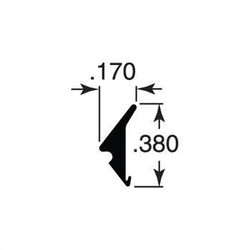 PRIME-LINE 200/' Gray Glass Spline