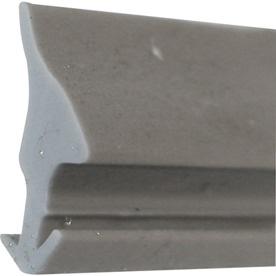 "Picture of P 7785 - Glazing Spline, Flexible Vinyl Push-in Bead, .160"" x .445"", Gray, 100' per roll."