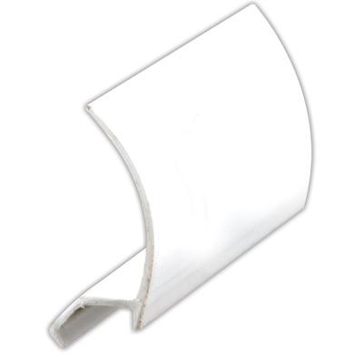 "Picture of P 7851 - Glass Retainer, Rigid Vinyl Snap-in Glazing Bead, White, 72"". 25 per Carton"