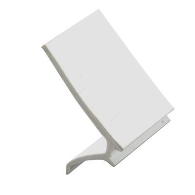"Picture of P 7860 - Glass Retainer, Rigid Vinyl Snap-in Glazing Bead, White, 72"". 25 per Carton"