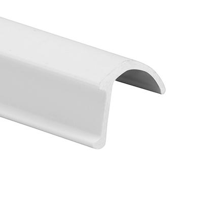 "Picture of P 7861 - Glass Retainer, Rigid Vinyl Snap-in Glazing Bead, White, 72"". 25 per Carton"