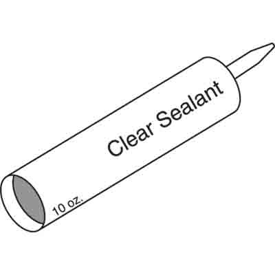 Picture of P 7868 - Siliconized Sealant for Securing Storm Window Frames, Clear, 10 0z., 12 per carton.