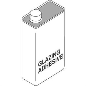 Picture of P 7869 - Storm Window Glazing Adhesive, Clear, Pint