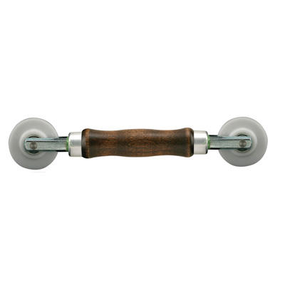 Picture of P 7886 - Professional Screen Rolling Tool, Wood Handle with Nylon Wheels, 1 per pkg.