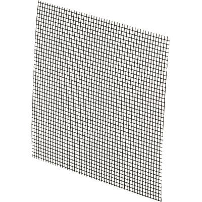 "Picture of P 8096 - ""Stick-on"" Fiberglass Screen Repair Kit. 3"" x 3"", Charcoal,  5 per card."
