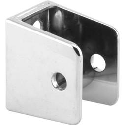 "Picture of PH 17019 - ""U"" Bracket, for 1"" Panels, Diecast, Chrome Plated"