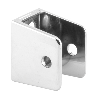 """Picture of PH 17020 - """"U"""" Bracket, for 1-1/4"""" Panels, Diecast, Chrome Plated"""