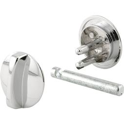 "Picture of PH 17043 - Concealed Lock, 1-1/4"" Dia, Diecast, Chrome Plated"