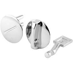 "Picture of PH 17062 - Concealed Lock, 1-3/16"" Dia, Diecast, Chrome Plated"
