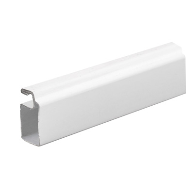 Picture of PL 14038 - Prime-Line 3/4 inch Roll Formed Aluminum Screen Frame, .020, White, 72 inch long