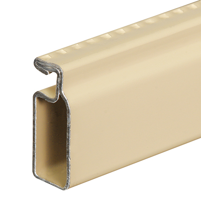 Picture of PL 14075 - 3/4 inch x 5/16 inch Prime-Line Screen Frame, .020, Almond, 72 inches long