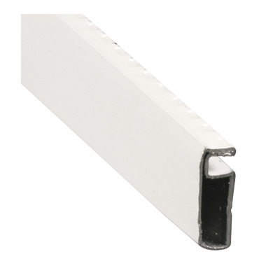 Picture of PL 14091 - Prime-Line 1/4 inch x 3/4 inch .020 Roll Formed Screen Frame, White, 72 inches long