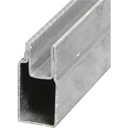 "Picture of PL 14152 - Aluminum Window Frame, 3/8""x25/32"", 72"", .020 Gauge"