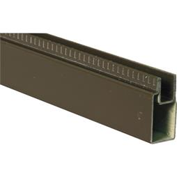 "Picture of PL 14153 - Aluminum Window Frame, 3/8"" x 25/32"", 72"" Long, .020 Gauge"
