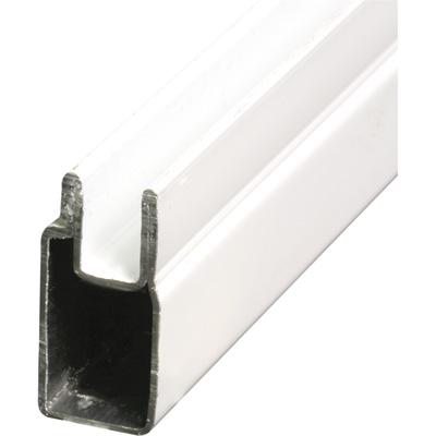 Picture of PL 14154 - Prime-Line 3/8 inch Aluminum Window Frame, White Paint Finish, 72 inches, 12 pcs per carton