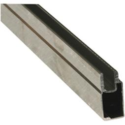 "Picture of PL 14155 - Aluminum Window Frame, 3/8""x25/32"", 94"", .020 Gauge, Mill"