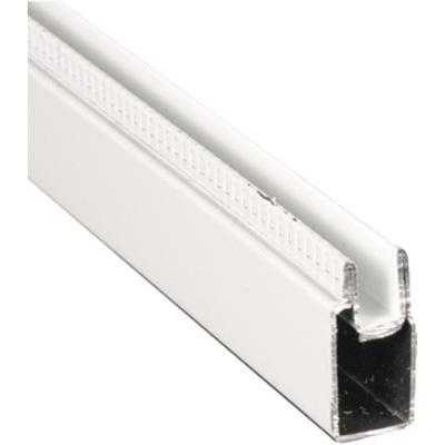 Picture of PL 14157 - Prime-Line 3/8 inch Aluminum Window Frame, White Paint, 94 inches, 12 pcs per carton