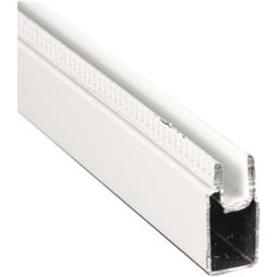 "Picture of PL 14157 - Aluminum Window Frame, 3/8""x25/32"", 94"" Long, .020 Gauge"