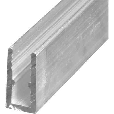 Picture of PL 14161 - Prime-Line 5/16 inch Extruded Aluminum Window Frame, Mill, 72 inches, 12 pcs per carton