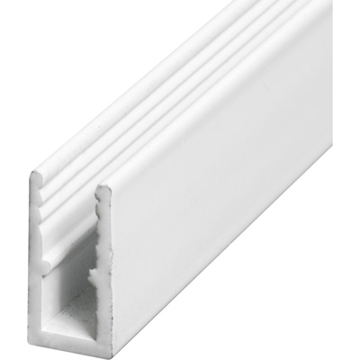 Picture of PL 14163 - Prime-Line 5/16 inch Extruded Aluminum Window Frame, White Paint, 72 inches, 12 pcs per carton