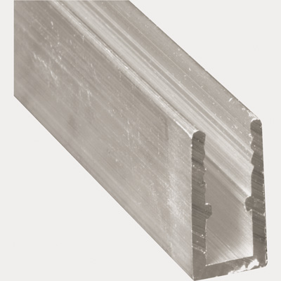 Picture of PL 14164 - Prime-Line 5/16 inch Extruded Aluminum Window Frame, Mill, 94 inches, 12 pcs per carton