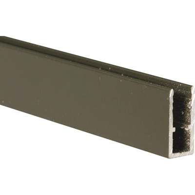 Picture of PL 14165 - Prime-Line 5/16 inch Extruded Aluminum Window Frame, Bronze Paint, 94 inches, 12 pcs per carton