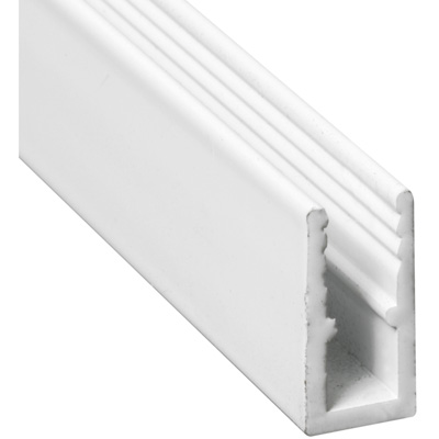 Picture of PL 14166 - Prime-Line 5/16 inch Extruded Aluminum Window Frame, White Paint, 94 inches, 12 pcs per carton