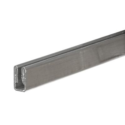 Picture of PL 14170 - Prime-Line 3/8 inch Aluminum Window Frame, Mill finish, 72 inches, 12 pcs per carton
