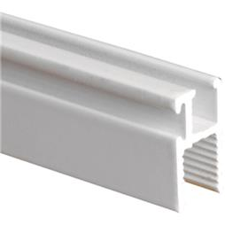 Picture of PL 14191 - Prime-Line Top and Side Window  Frame, 11/32 inch 1-1/4 inch x 72  inch, Extrud. Alum, White