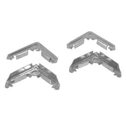Picture of PL 14268 - Prime-Line Screen Frame Corners for 1/2 inch Lip Frame , Stamped Aluminum, 100 per box