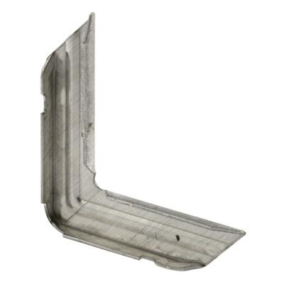 Picture of PL 14306 - Prime-Line 3/4 inch x 1/4 inch Screen Frame Corners, Stamped Aluminum, 1 per box