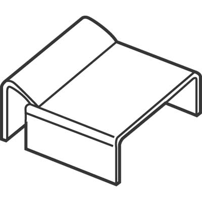 Picture of PL 14308 - Prime-Line 7/8 inch Window Screen Spreader Bar Clips, Mill Finish