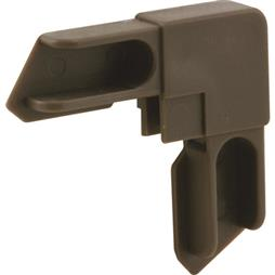 "Picture of PL 14316 - WINDOW FRAME CORNER, 3/8"", BRONZE"