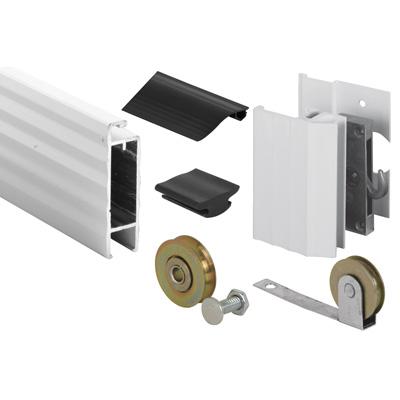 Picture of PL 14378 - Prime-Line 49x81 Ultimate I Aluminum Sliding Screen Door Kit, 1-3/4 inch, White