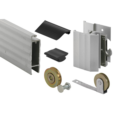 Picture of PL 14383 - Prime-Line 37x81 Ultimate II Aluminum Sliding Screen Door Kit, 2-1/2 inch, Satin
