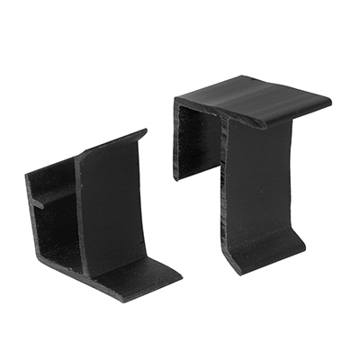 Picture of PL 14632 - Prime-Line Screen Retainer Clips, for 3/8 inch screen frame, Plastic, Black