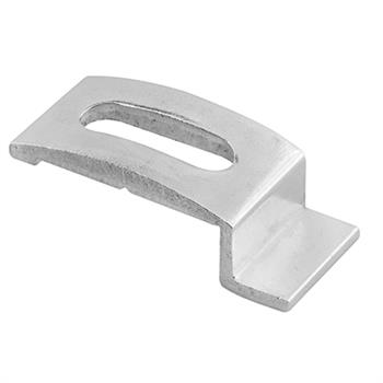 Picture of PL 14750 - Prime-Line Storm Door Panel Clips, 1/4 inch , Aluminum, Mill, 25 per tub
