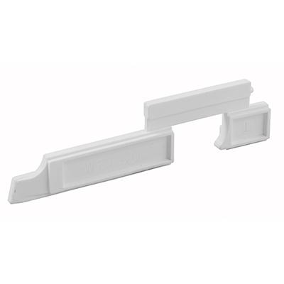 Picture of PL 15348 - Prime-Line Nylon Slide Bolts for Storm Windows, Left Hand, 20 per tub