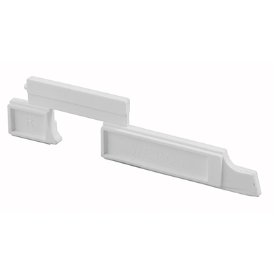Picture of PL 15350 - Prime-Line Nylon Slide Bolts for Storm Windows, Right Hand, 20 per tub
