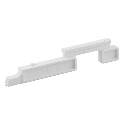 Picture of PL 15360 - Prime-Line Nylon Slide Bolts for Storm Windows, Left Hand, 20 per tub