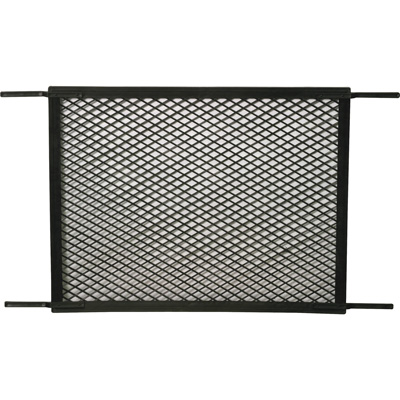 Picture of PL 15518 - Prime-Line Hinged Screen Door Grille, 34-1/2 inch, Molded Plastic, Black