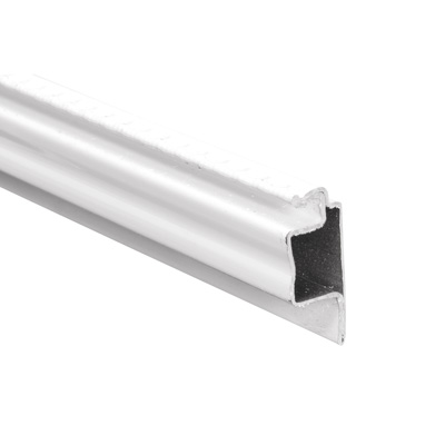 Picture of PL 15648 - Prime-Line 5/16 inch Lip frame, Roll Formed Aluminum, .025, White, 72 inches long