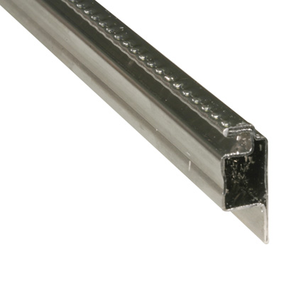 Picture of PL 16362 - Prime-Line 5/16 inch Lip frame, Roll Formed Aluminum, .025, Mill, 94 inches long
