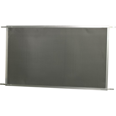 Picture of PL 15930 - Prime-Line Hinged Screen Door Grille, 30 to 36 inch, Aluminum, Mill