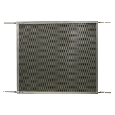 Picture of PL 15931 - Prime-Line Hinged Screen Door Grille, 30 to 36 inch, Aluminum, Satin